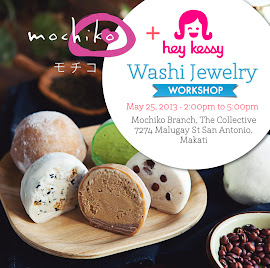 Mochiko x Hey Kessy Workshop on May 25! :)