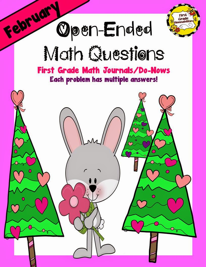 https://www.teacherspayteachers.com/Product/February-Open-Ended-Math-Questions-for-Journals-or-Do-Nows-First-Grade-1675232