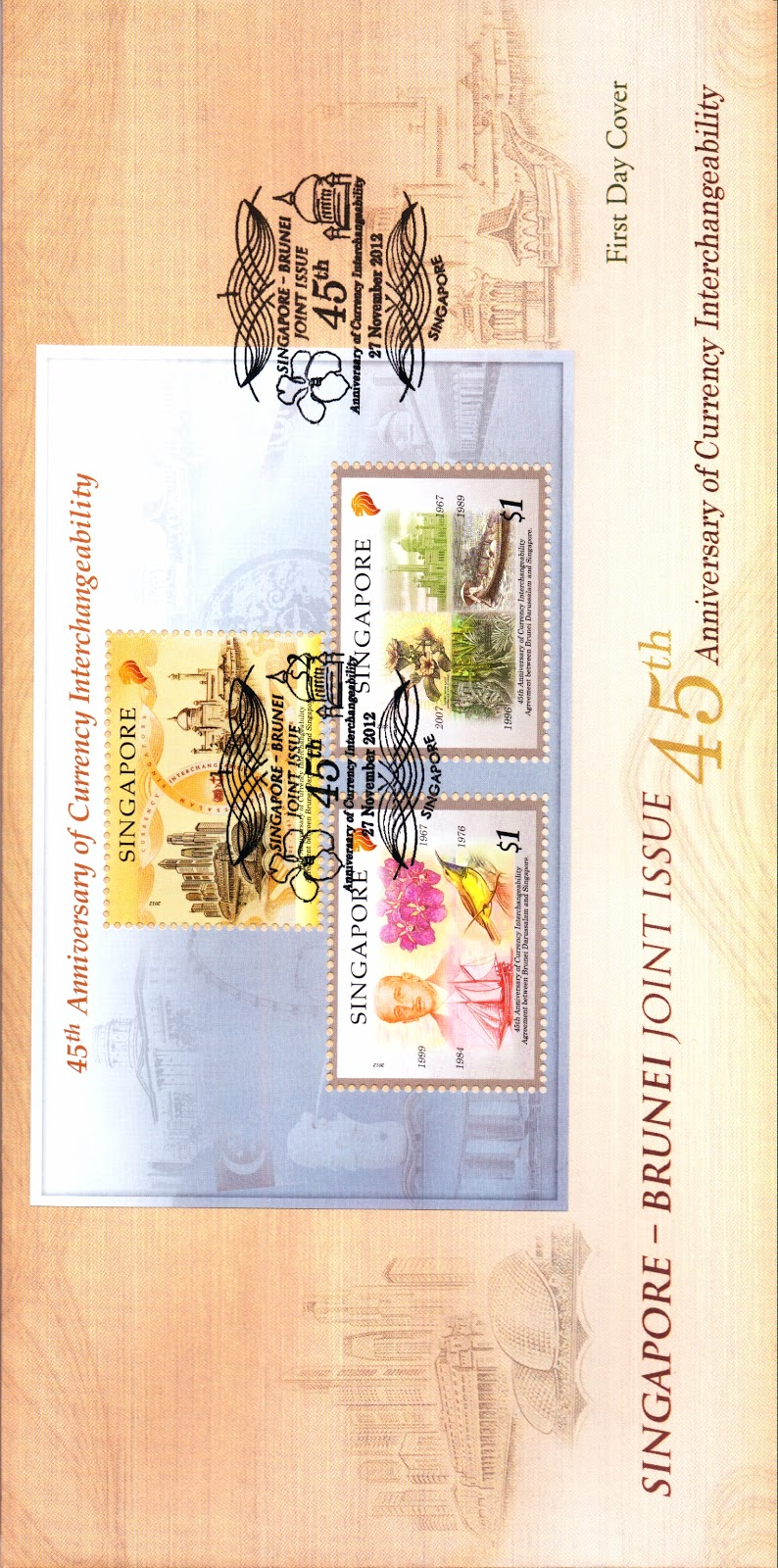 Pre-cancelled First Day Cover with Miniature Sheet (S$4.90)