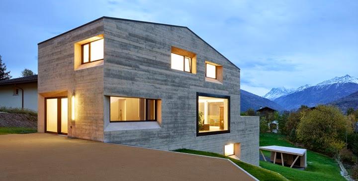 Marzua casas prefabricadas de hormig n - Viviendas de hormigon ...