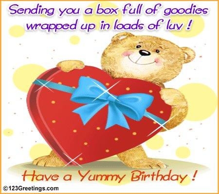 Yummy Birthday