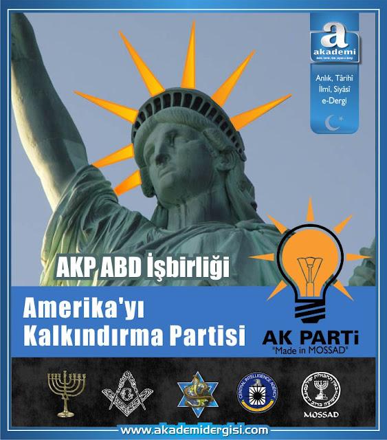 AKP ABD İşbirliği: Amerikayı Kalkındırma Partisi logo ak parti