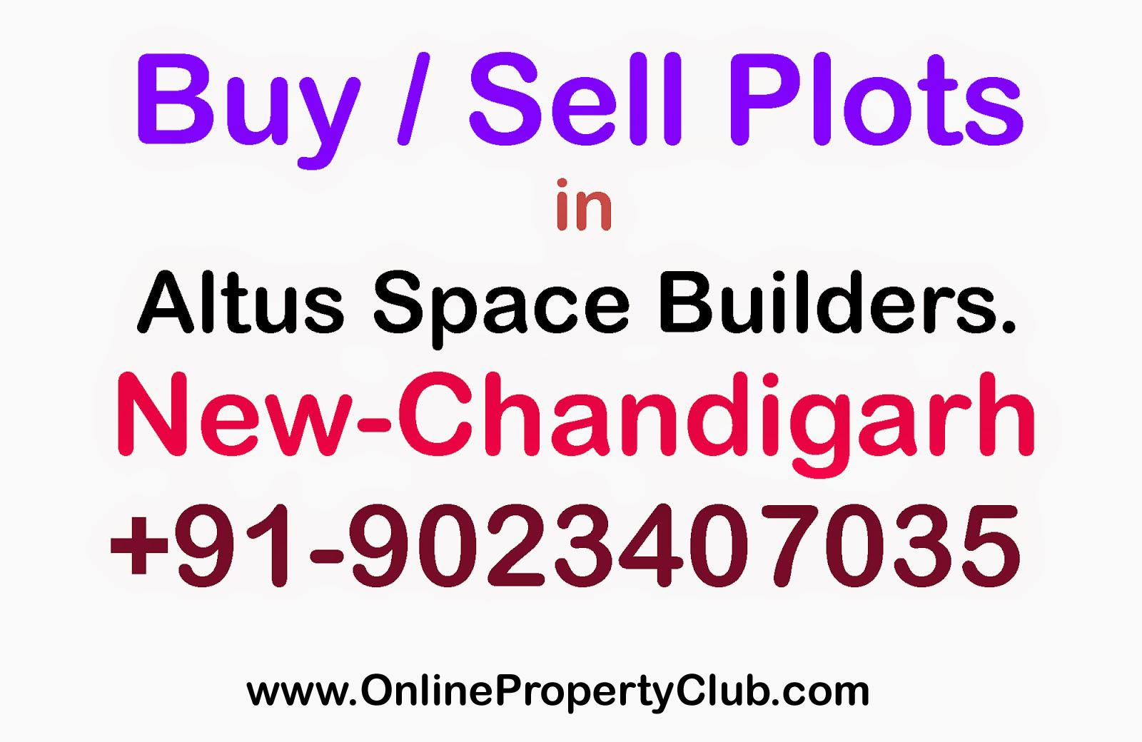 Buy Sell Plots in Altus Space Builders