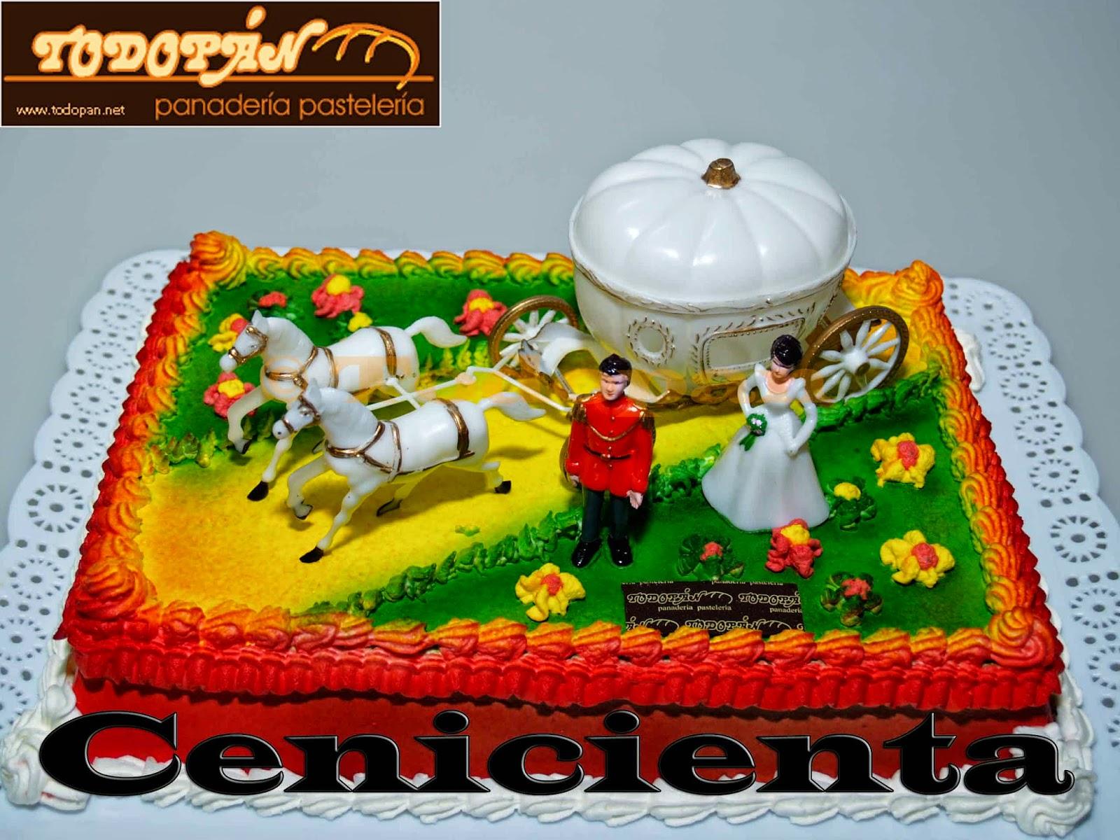 Tarta Cenicienta
