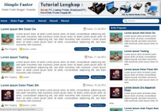 4sharing template blog seo