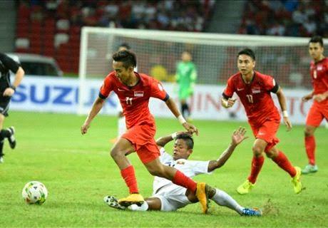 Piala AFF : Myanmar vs Singapura 2 – 4