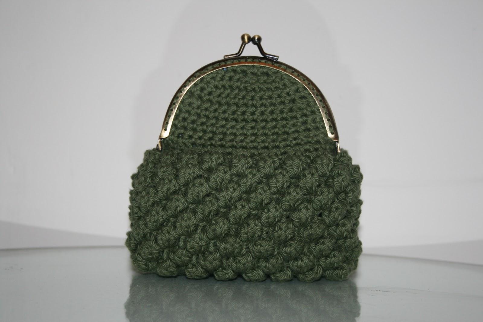 Más monederos de crochet