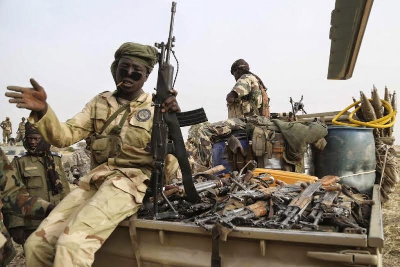 Shocking Photos From The Recaptured Town Of Damasak, Borno State  A