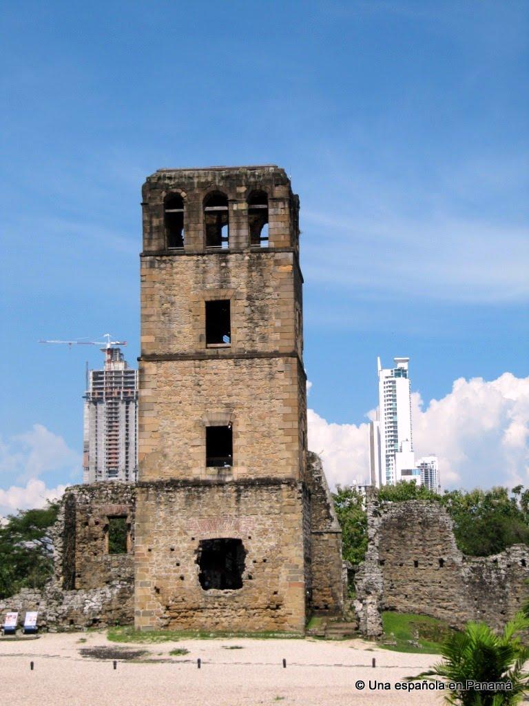 torre mirador catedral panama viejo