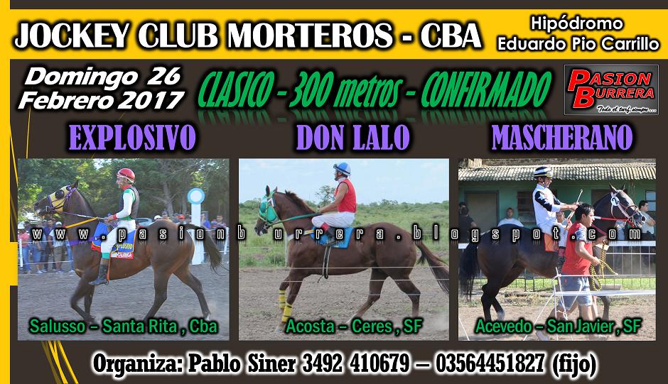 MORTEROS - 26 - CLASICO
