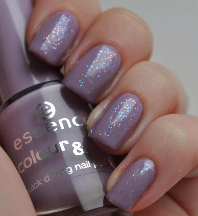 Glitter Nail Art Designs for women 2014