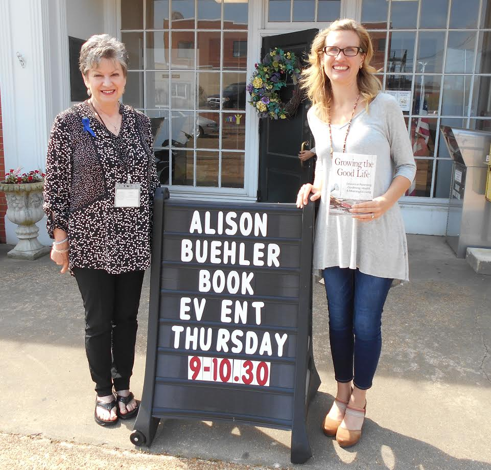 Alison Buehler Book Signing