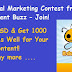 Viral Content Buzz Summer Contest - Win Up To 1000 USD and Also Get Share for Your Content!