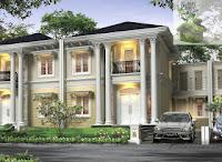 Paduan warna Dan Gambar Desain Rumah Klasik