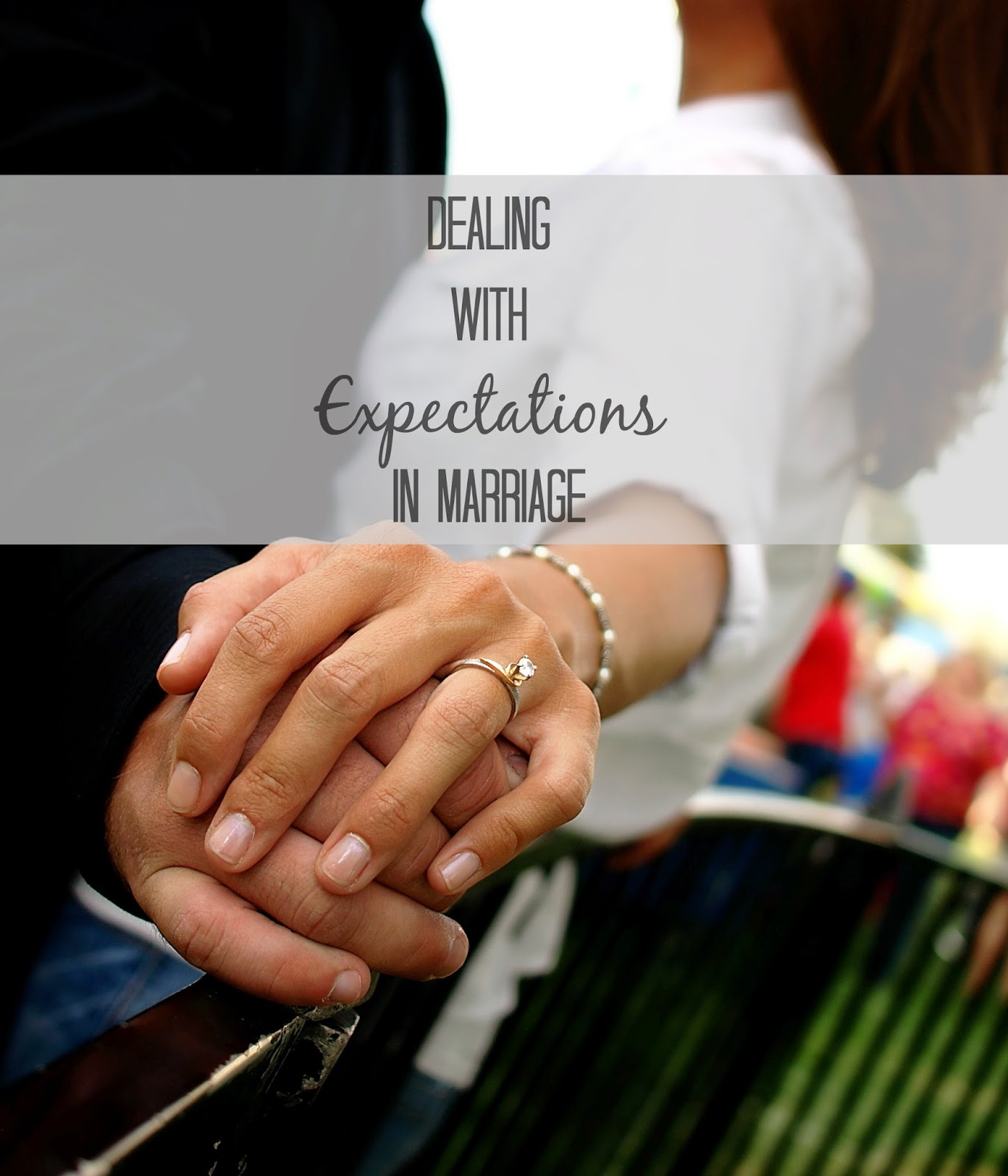 are my marriage expectations too high?