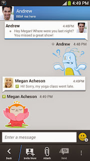 Download BBM 2.1 Apk Android - BBM Stickers