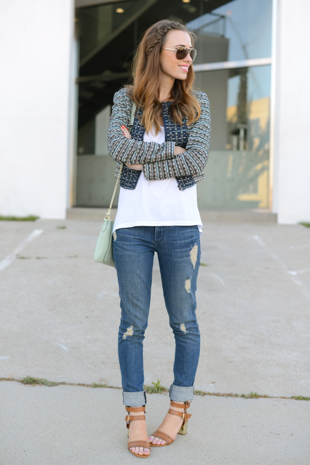 cute and casual outfit, M Loves M