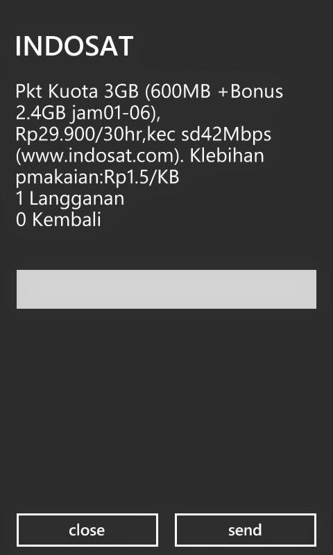 Indosat  Paket Internet 3 GB Rp 29.900