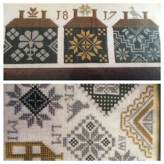 Homespun Stitchworks For The Love Of Vintage Cross Stitch Under Used Embroidery Stitch