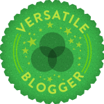 Ho vinto il premio Versatile Blogger.