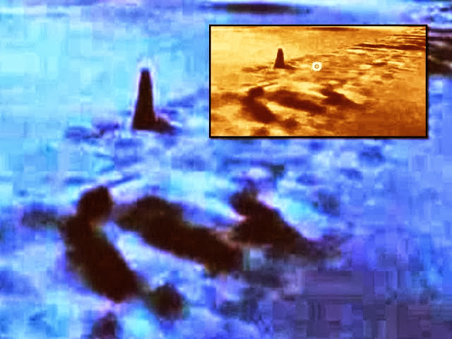 Huge Underwater Obelisks and entrance Hollow Earth? 7