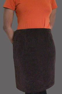 Corduroy Skirt Design