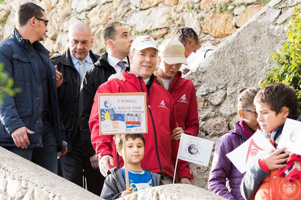 Princely Family Of Monaco Take Part In A 'March For Climate'