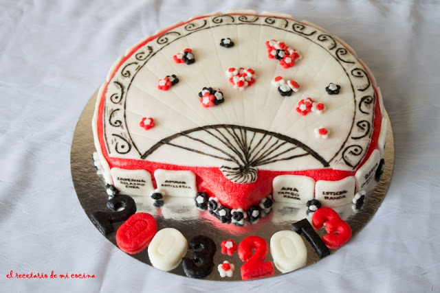 tarta abanico