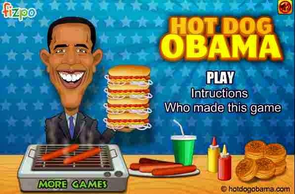 العاب طبخ لعبة هوت دوج اوباما