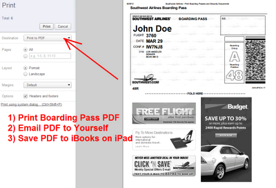 save boarding pass as pdf file