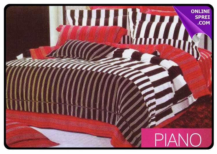 Sprei Star Motif Piano
