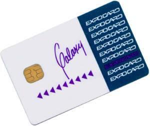 บัตรสมาร์ทการ์ด ชนิดสัมผัสกับหัวอ่าน (Contact)