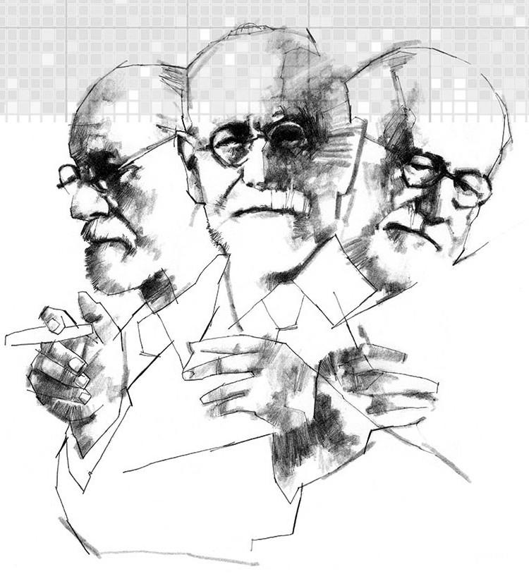 Frases de Freud - Sigmund Freud, o pai da psicanálise.