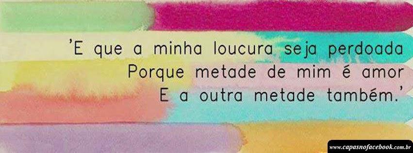 Capas Para Facebook Com Frases De Amor