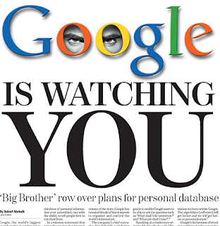 Google está a observar-te; Google is watching You; Google; Google Logo
