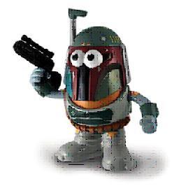 C-3PO And Boba Fett Mr. Potato Head Pop Taters - PPW Toys
