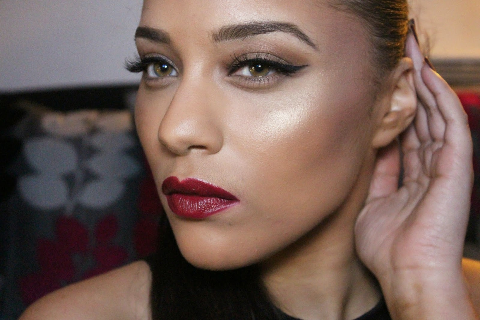 Date night makeup in Melbourne