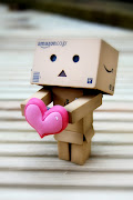 Danbo amzon in love iphone,android wallpaper