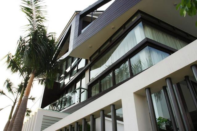 Biệt thự đương đại ở Sài Gòn