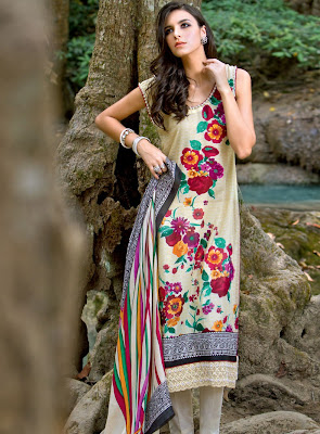 Gul Ahmed Lawn 2012 Collection