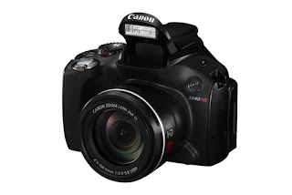 Canon PowerShot SX40 HS review - my-gadget24 specification review & applications