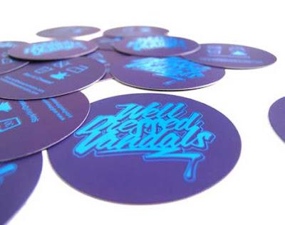diseños de tarjetas presentacion circulares