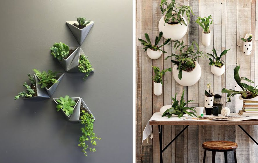 La fabrique d co un mur v g tal le jardin vertical en int rieur for Pot de plante design