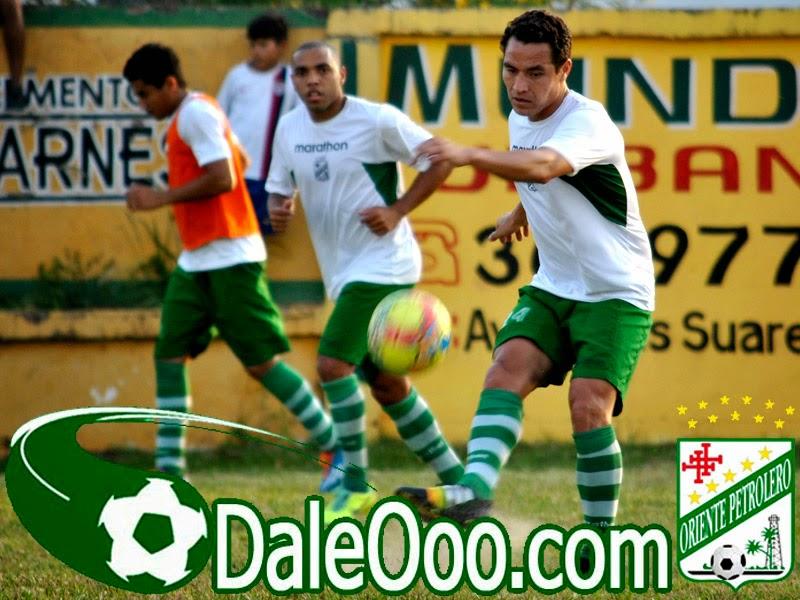 Oriente Petrolero - Thiago Dos Santos - Gualberto Mojica - DaleOoo.com página del Club Oriente Petrolero