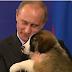 Ένα φιλί από τον Πούτιν (βίντεο)...
