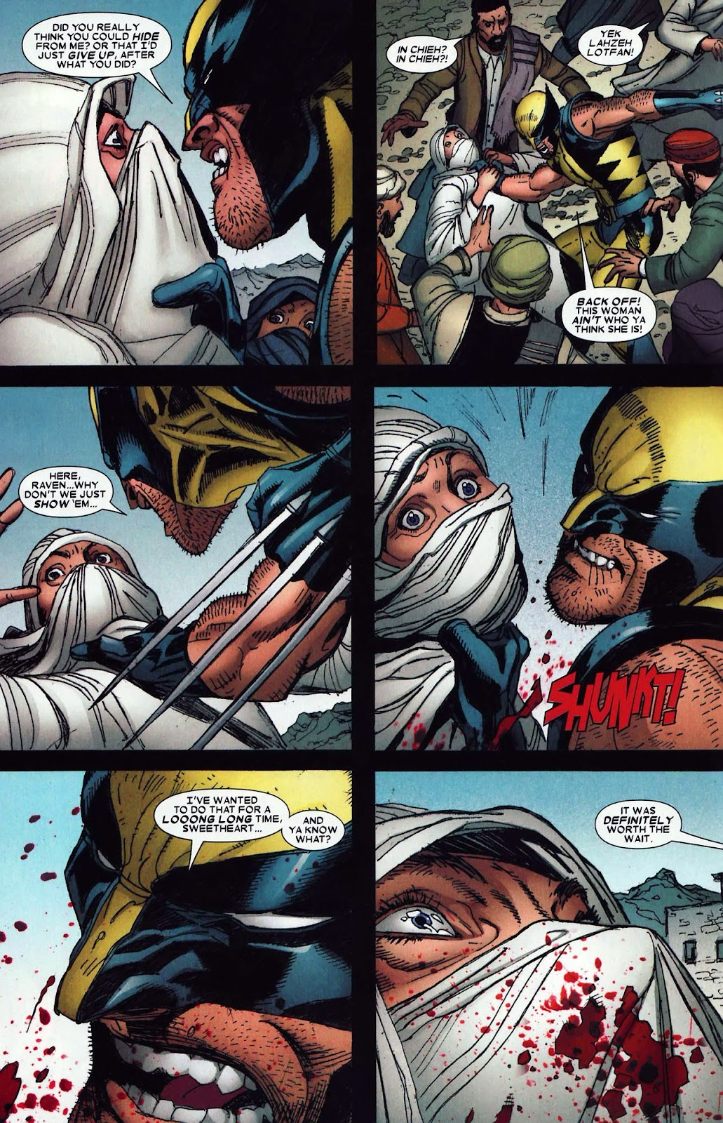 Read online Wolverine (2003) comic -  Issue #62 - 10