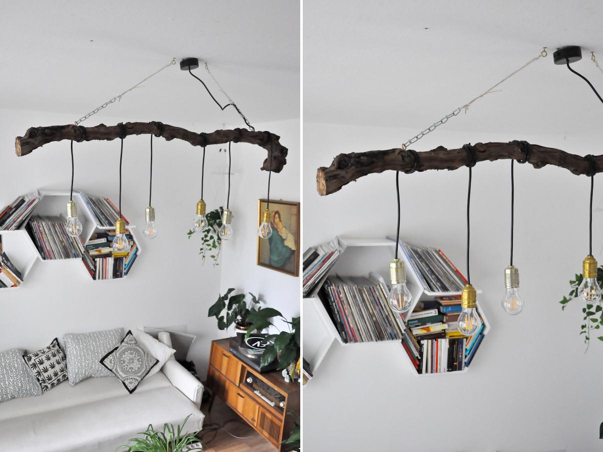 deko lampen idee. Black Bedroom Furniture Sets. Home Design Ideas
