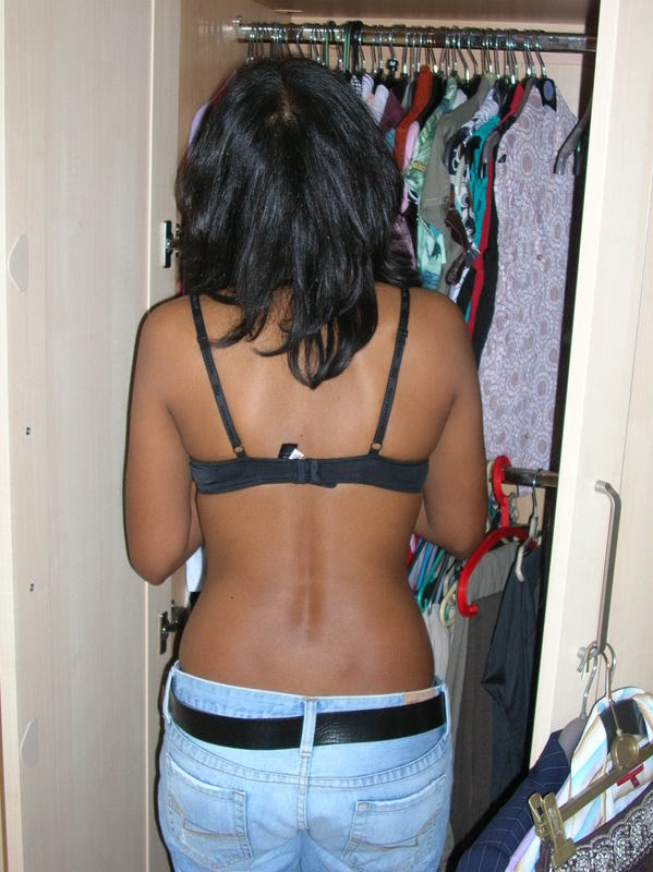 indian real life downblouse № 74786