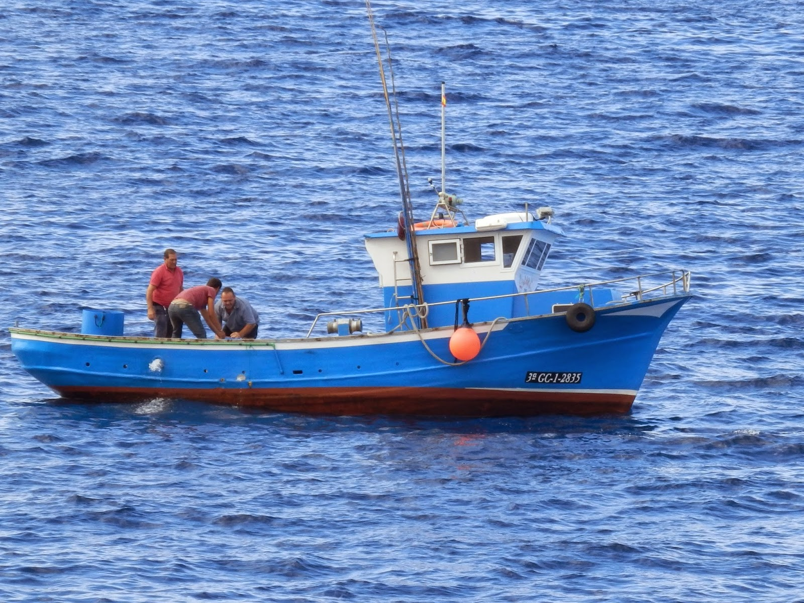 Fishing boat San Juan Tenerfiffe