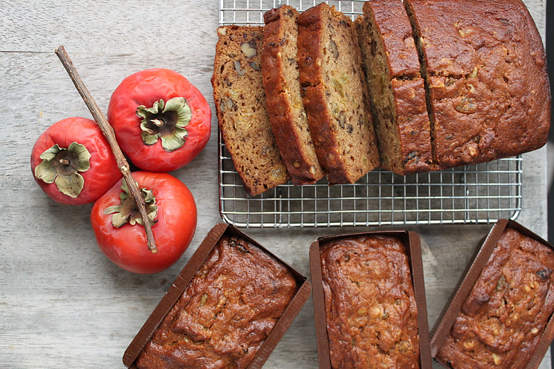 Cake With Fruit Puree : Persimmon Walnut Cake - The Little Epicurean